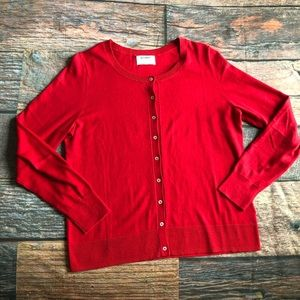 Old Navy Semi Fitted Button Front Cardigan L